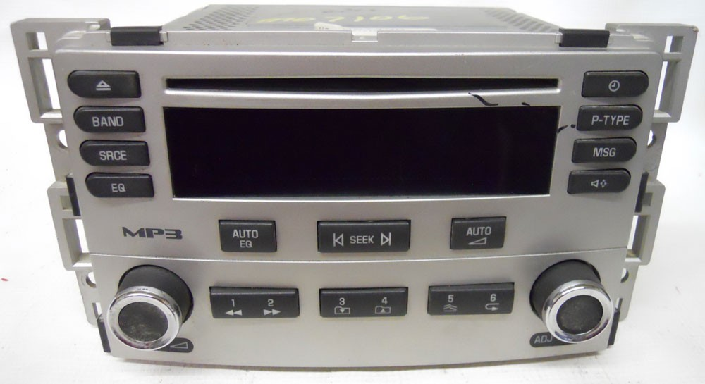 chevy cobalt 2005 2006 factory stereo program eq cd player. Black Bedroom Furniture Sets. Home Design Ideas