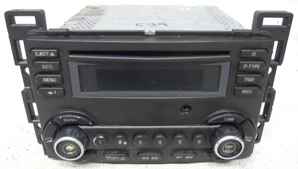 Pontiac G6 2008 2009 Factory Stereo CD Player Radio AUX Input 28113942 - G6 - Pontiac