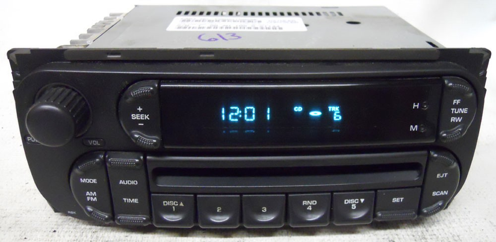 Dodge Stratus 2002 2003 2004 2005 2006 Factory Stereo Cd