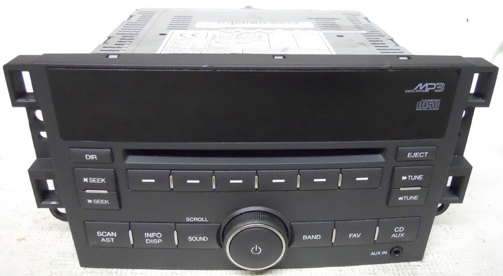 Chevy Aveo 2009 2010 2011 Factory Stereo MP3 CD Player ...