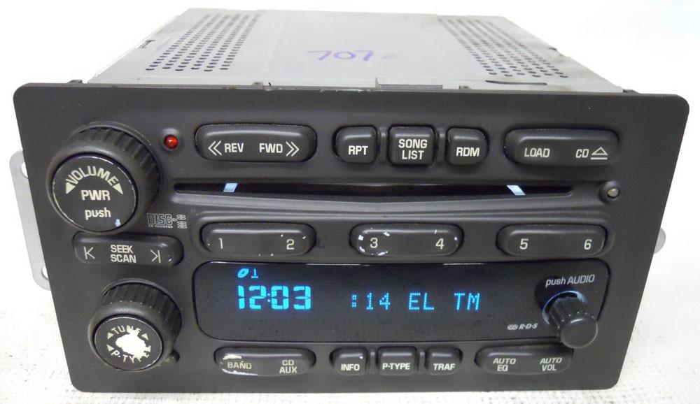 2004 Tahoe Removingcenter Consolehe Rear Audio Controls