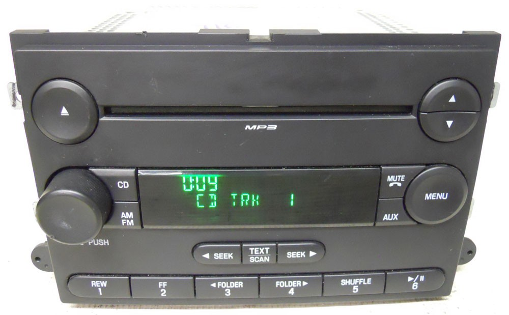 ford fusion 2006 2007 2008 2009 factory stereo mp3 cd. Black Bedroom Furniture Sets. Home Design Ideas