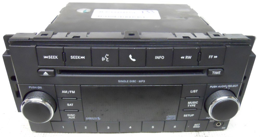 Town And Country Toyota >> Jeep Wrangler 2009 2010 2011 Factory Stereo MP3 CD Player Radio P05091228AD