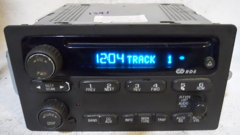 Chevy Tahoe 2003 2004 2005 Factory Stereo Single Cd Player