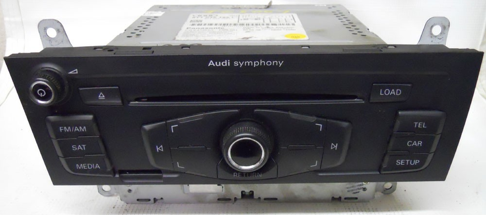 Audi A4 2009 Factory Stereo 6 Disc Changer CD Player Radio