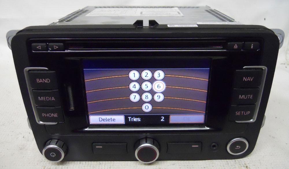 volkswagen jetta 2011 2012 nav navigation cd player radio. Black Bedroom Furniture Sets. Home Design Ideas