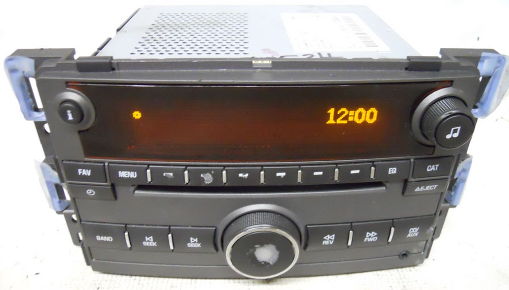 saturn aura 2009 factory stereo mp3 cd player oem radio. Black Bedroom Furniture Sets. Home Design Ideas