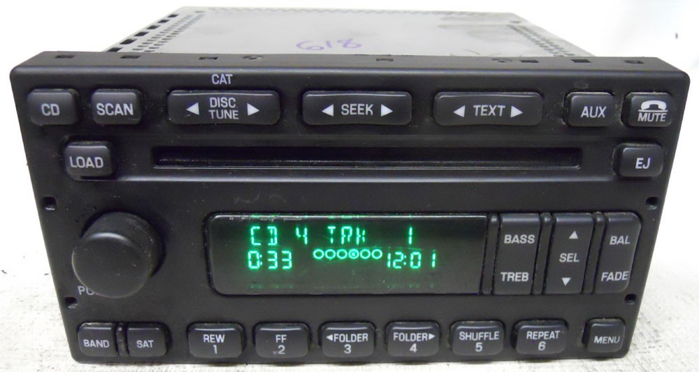 Ford Escape 2005 2006 2007 Factory Stereo Audiphile 6 CD