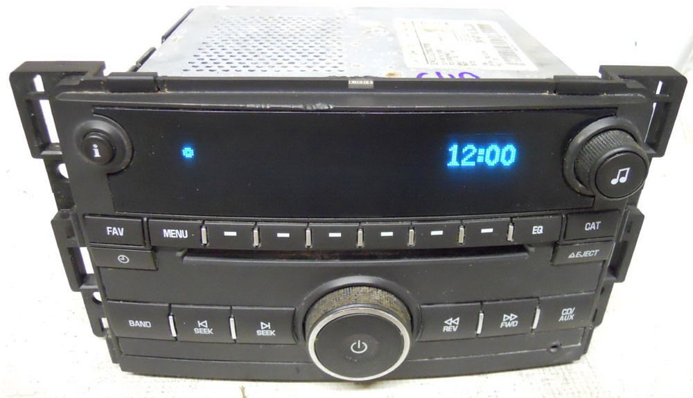 chevy hhr 2009 2010 2011 factory stereo cd player oem. Black Bedroom Furniture Sets. Home Design Ideas