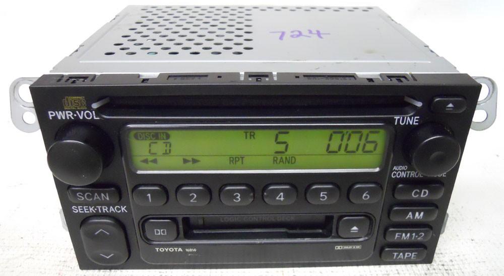 Toyota Camry 2000 2001 Factory Stereo Tape Cd Player Radio Rhoemdirectradios: 2000 Toyota Corolla Oem Radio Cd Player At Gmaili.net