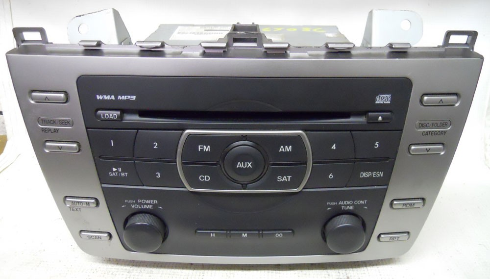 Mazda 6 2011 2012 2013 Factory Stereo 6 Disc MP3 CD Player