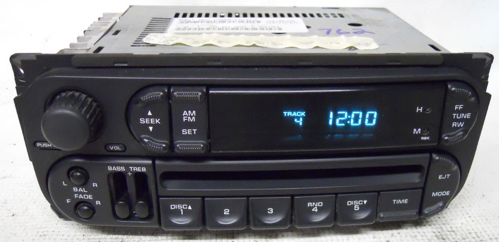 Chrysler Concorde 2002 2003 2004 Factory Stereo CD Player ...