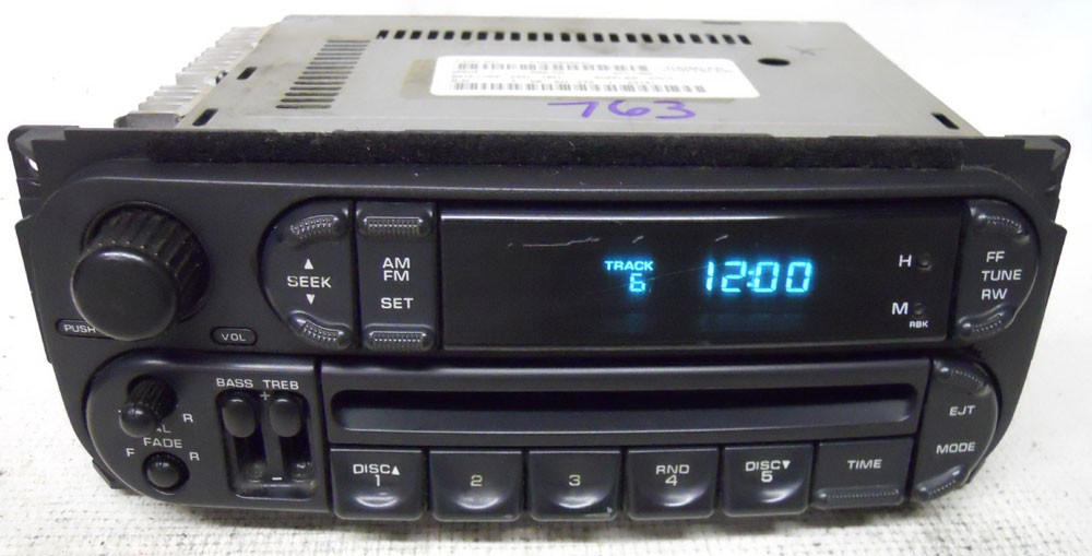 Jeep Wrangler 2002 2003 2004 2005 2006 Factory Stereo Cd
