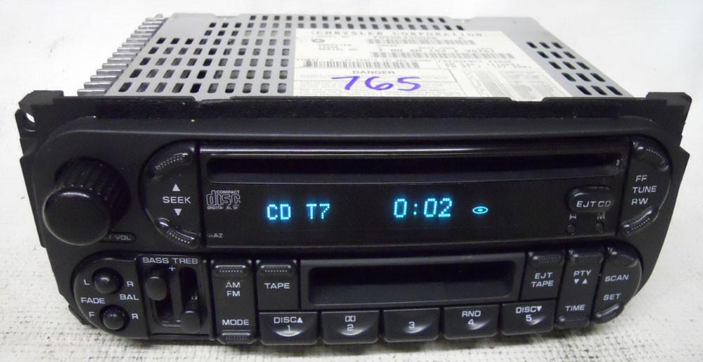 Chrysler Pt Cruiser 2004 2005 Factory Stereo Tape Cd Player Radio Rhoemdirectradios: 2004 Pt Cruiser Audio At Gmaili.net