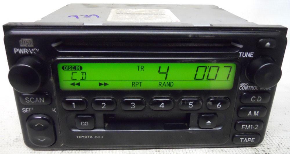 Toyota Echo 2000 2001 2002 Factory Stereo Cd Tape Player Radio Rhoemdirectradios: 2000 Toyota Corolla Oem Radio Cd Player At Gmaili.net