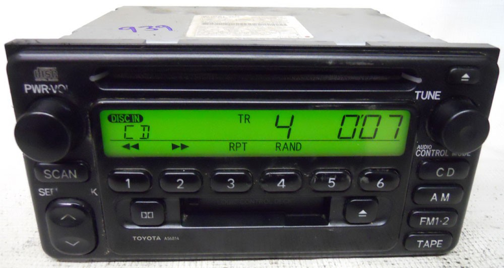 Toyota Mr2 2000 2001 2002 Factory Stereo Cd Tape Player Radio Rhoemdirectradios: Toyota Mr2 Radio At Gmaili.net
