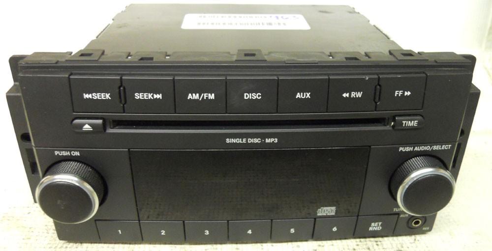 dodge grand caravan   factory stereo cd player radio aux pad caravan dodge